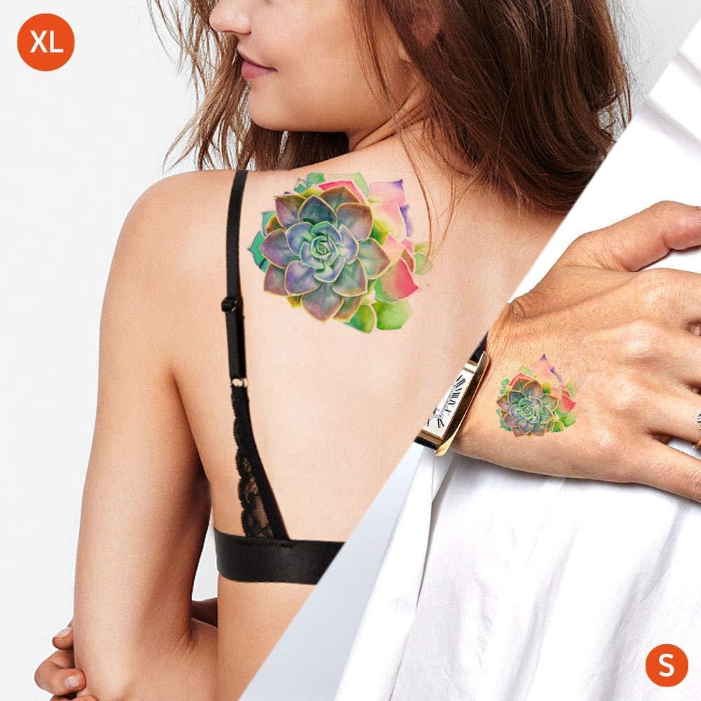Succulent - Tatuajes temporales: Amazon.es: Handmade