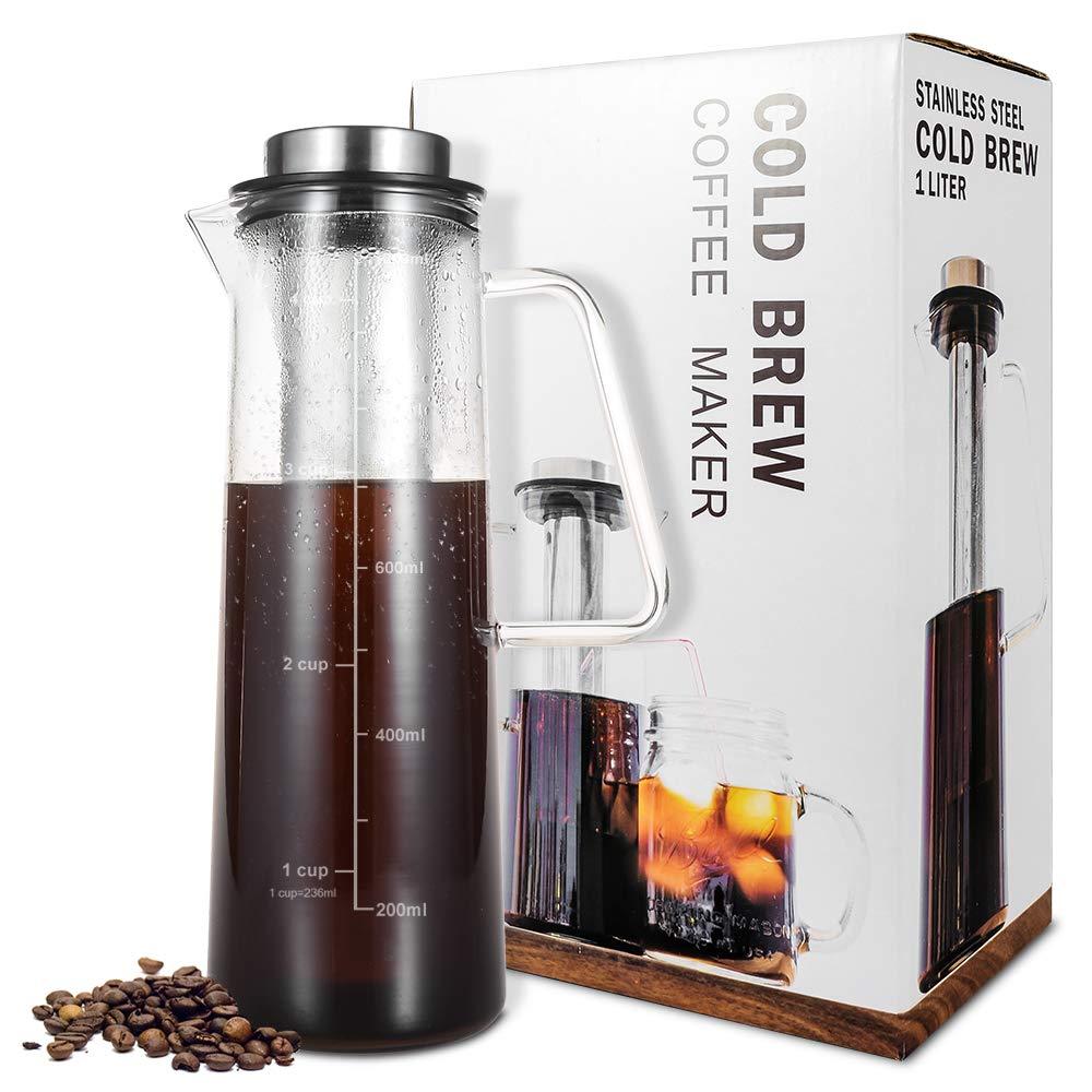 61wQBrRROLL. SL1000  Bodum Glass Amp Stainless Steel Oz French Press Coffee Maker