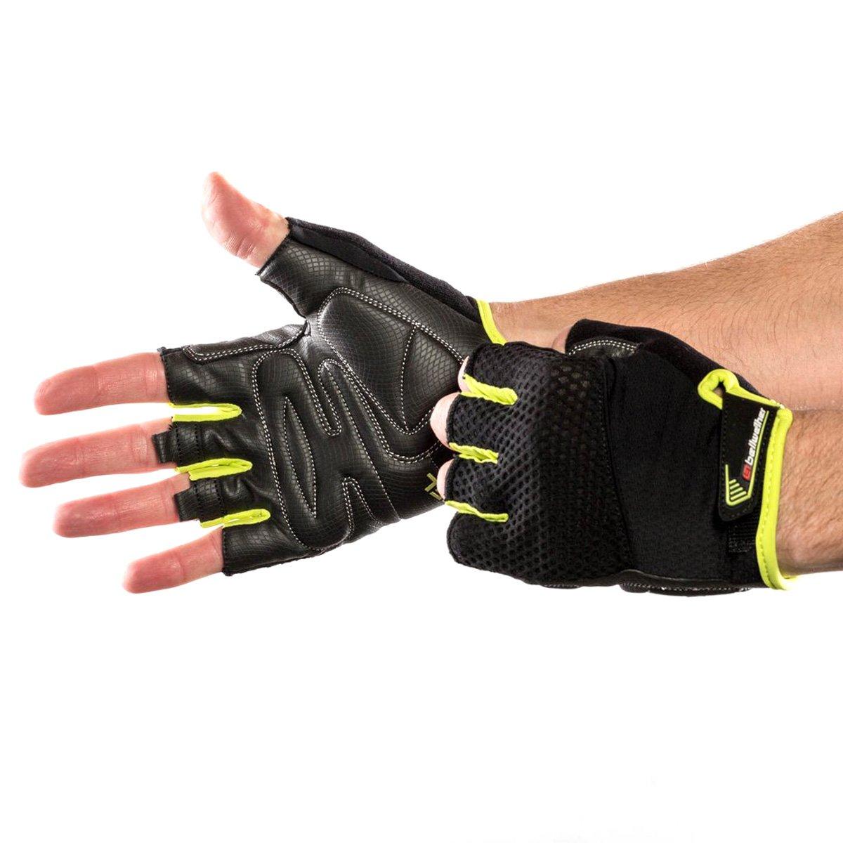 73301 Bellwether Mens Gel Supreme Short Finger Cycling Gloves