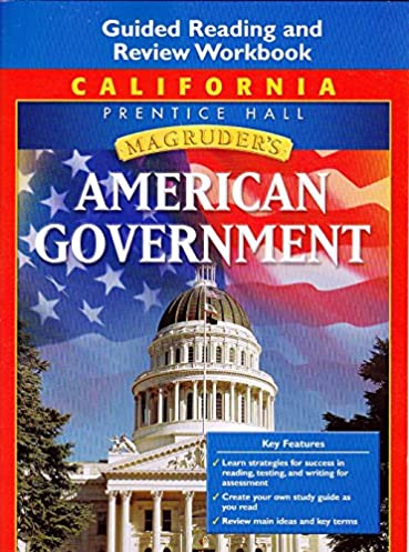 amazon com magruder s american government california edition rh amazon com magruder american government guided reading and review workbook answers pdf magruder american government guided reading and review workbook teacher edition