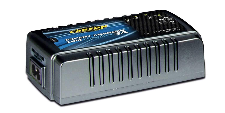 Veh/ículo Carson 500606068/Expert Charger Lipo Compact 3/A