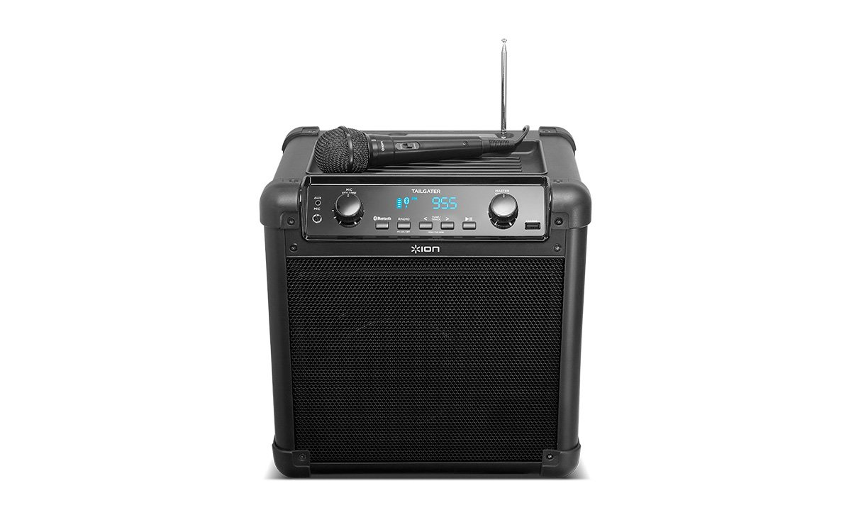 ION Audio Tailgater (iPA77) | Portable Bluetooth PA Speaker with Mic, AM/FM Radio, and USB Charge Port by ION Audio (Image #3)