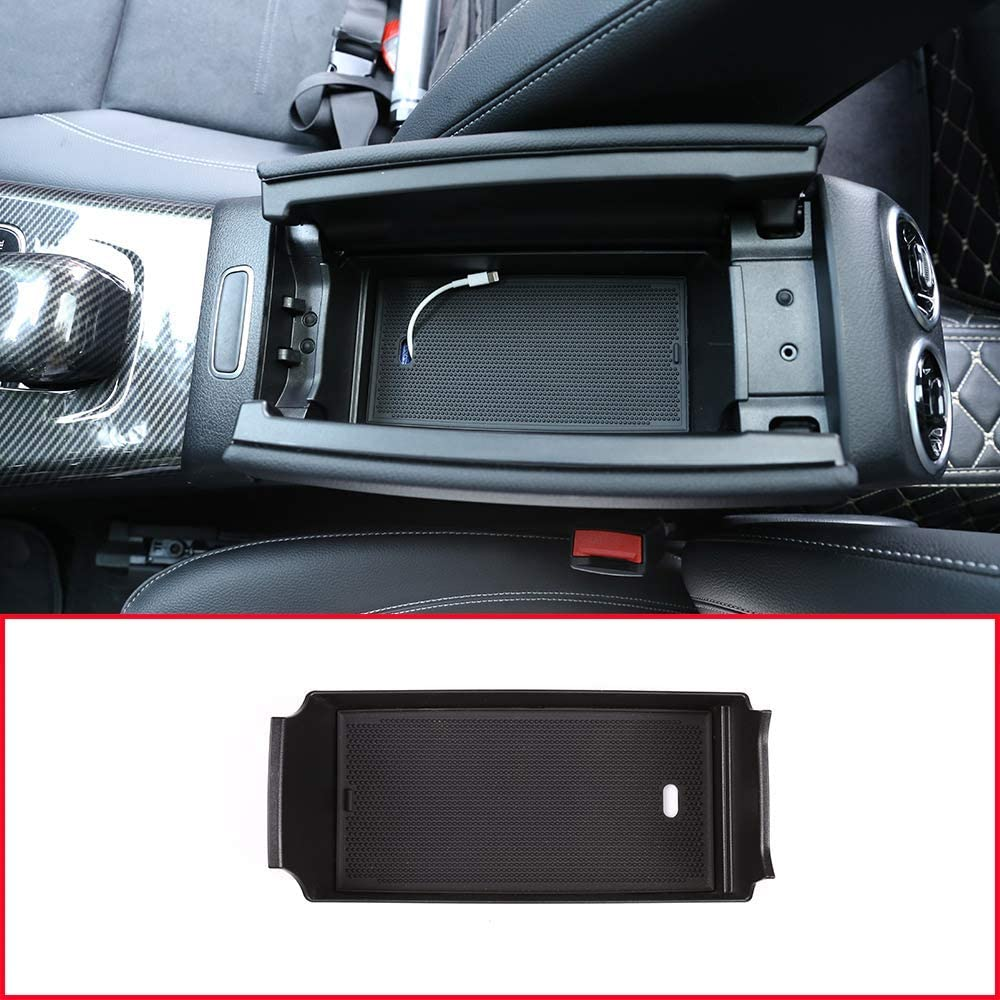 YIWANG Car Interior Center Console Armrest Storage Box For Benz A Class W177 A180 A200 2019