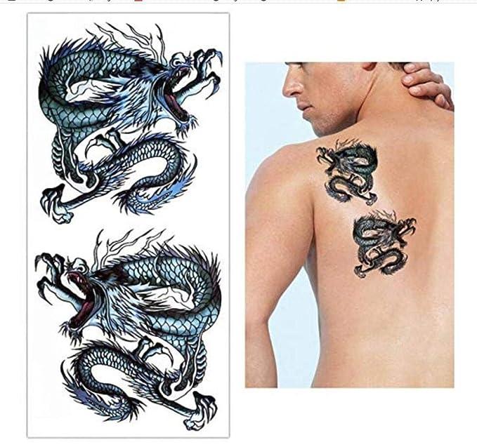 Transferencia Temporal Tatuajes Falsos Tatuajes de Moda Flash ...