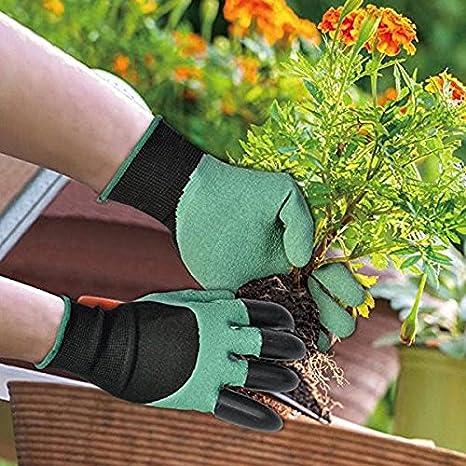 Vepson Garden Gloves Hand Protectors Gardening Genie Supply Plastic Claw Gardening Equip 1 Pair