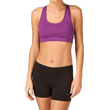 Puma - Sujetador deportivo de atletismo para mujer, 32: Amazon.es: Ropa y accesorios