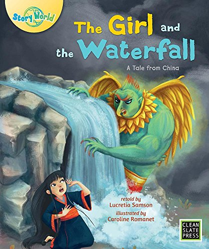 Falls Slate Waterfall (The Girl and the Waterfall (Story World))