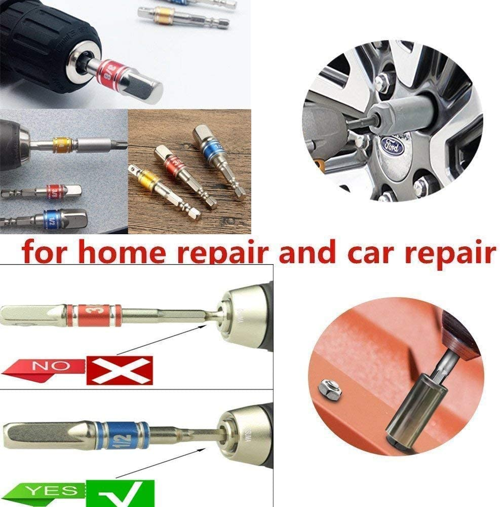 Screwdriver Bit For Drill,Screwdriver Socket Adapter,Socket Impact Adapter,Wrench Drill Bit Set,Offset Screwdriver,Impact Driver Socket Set,105 Degree Right Angle Drill+Impact Grade Driver Sockets