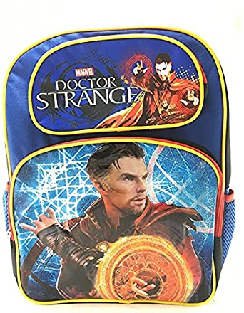 Image Unavailable. Image not available for. Color  Marvel Doctor Strange  16 quot  Canvas Blue School Backpack 7dac37a350
