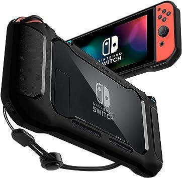 Spigen Rugged Armor Compatible con Nintendo Switch Funda: Amazon ...