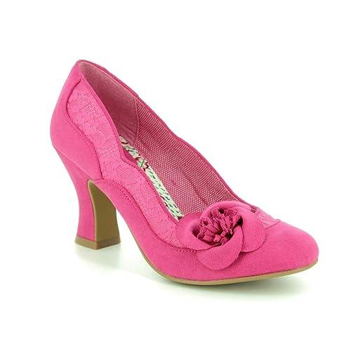 77d5dbf7f866b Ruby Shoo Women's Veronica Lace Corsage Court Shoe