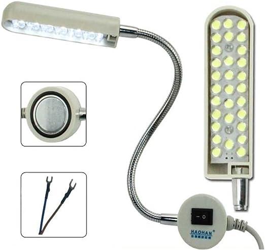 30 LED Máquina de coser 220V magnético de montaje de luz de ...
