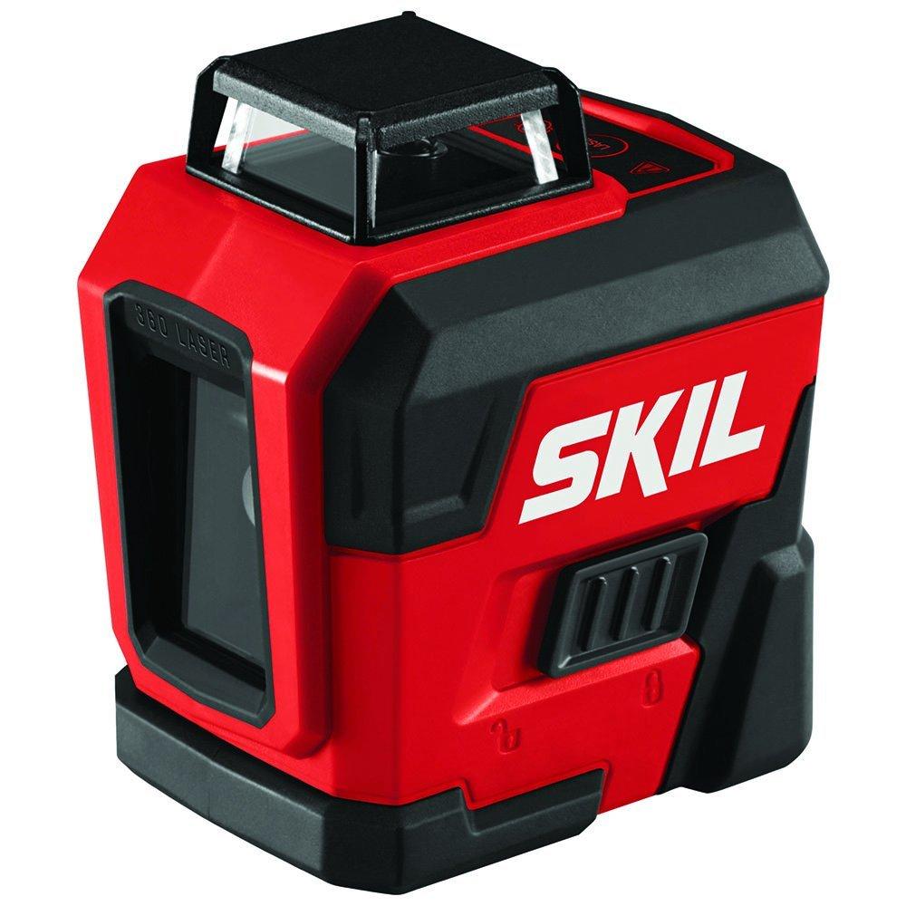 SKIL Self-Leveling 360-Degree Cross-Line Laser, LL932201
