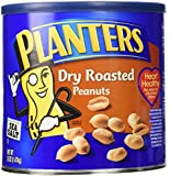 Planters Dry Roasted Peanuts Made With Sea Salt 52 Ounce Container
