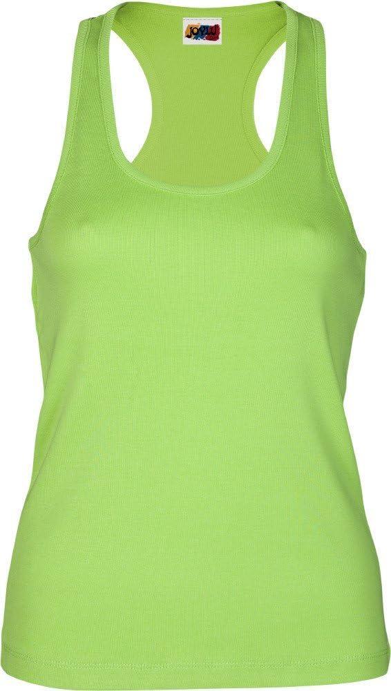 Emilio Fernández Camiseta Tirante Espalda NADADORA 100% ALGODÓN Verde Pistacho (XS): Amazon.es: Ropa y accesorios