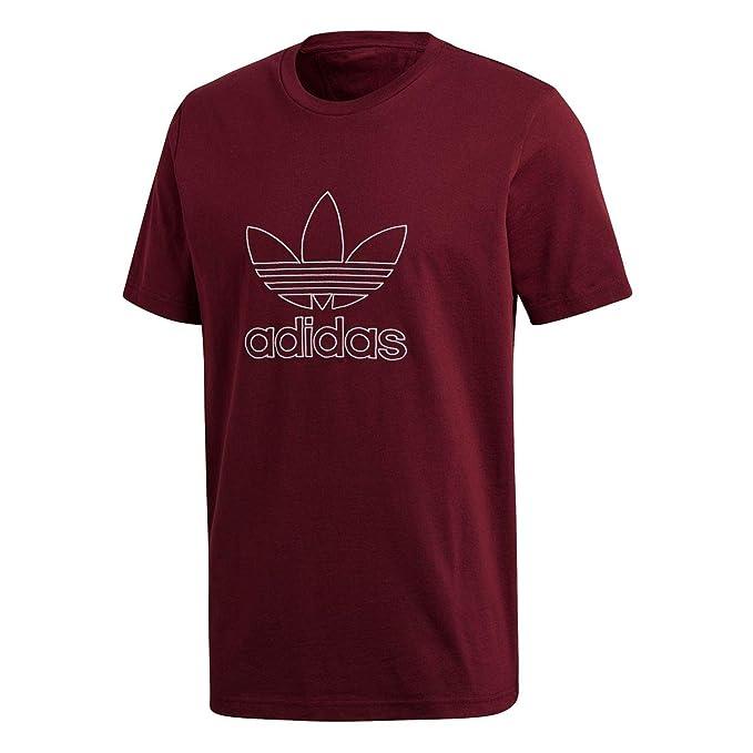 Camiseta adidas granate