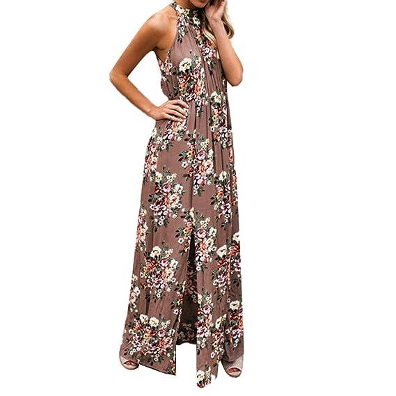 c8d09a71b0 MINXINWY Vestido de mujer Verano de Estampado