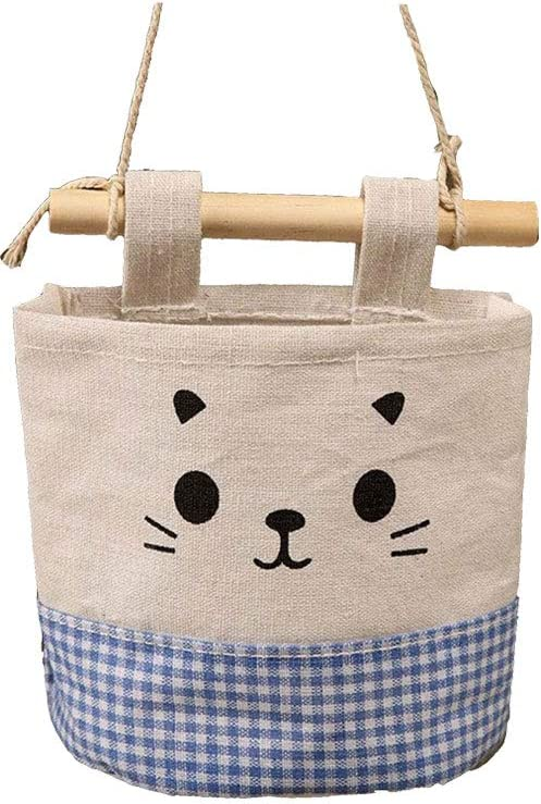 Cat Wall Hanging Small Storage Baskets Set Of 2
