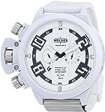 Welder Men's K24 Series White Chronograph Watch - K 24 3311
