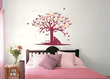 Buy Asian Paints Nilaya Tree of Love Wall Stickers Online at Low