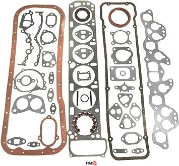 ITM Engine Components 09-00521 Complete Engine Gasket Set