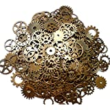 ASVP Shop® Steampunk Cyberpunk Watch Parts Vintage Gears Wheels Cogs Jewellery Making Crafts Art by ASVP Shop