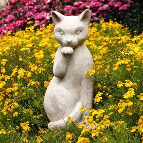 OrlandiStatuary Statue Gatto, 18