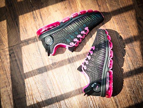 Chaussures De Noir Sport Mesh poudre Femmes Casual Running Respirant Onemix TwFqxX7F