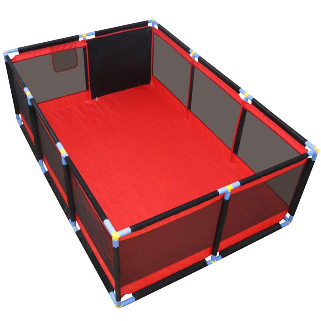 LXYu-Cerca del beb/é Baby Fence Indoor Crawling Toddler Playpen Activity Panels Alfombras de Piso Infant Plastic Castle