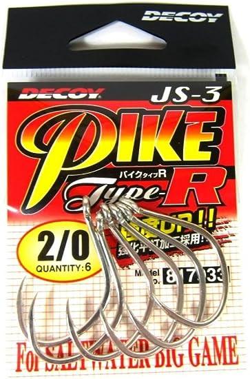 Decoy JS-3 Jigging Single Pike Type R Size 2//0 7933