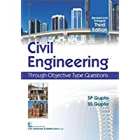 Civil Engineering Through Objective Type Questions 3Ed (Revised and Enlarged) (PB 2019)