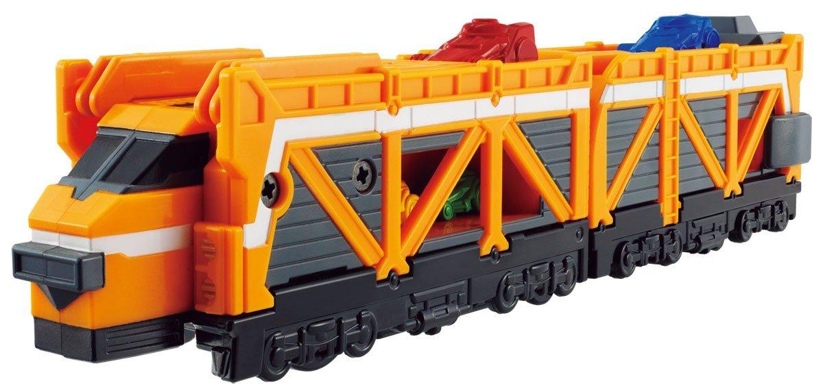 Bandai Ressha Sentai ToQger Train Union Series 7 Car Carrier Ressha