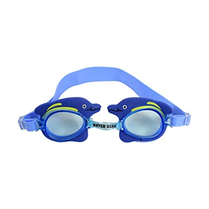 786fe16696db Image Unavailable. Image not available for. Color  Water Gear Animal Swim  Swim Goggles Dolphin