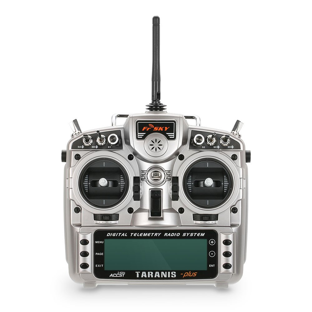 GoolRC FrSky Taranis X9D Plus 2.4G ACCST 16CH テレメトリ無線トランスミッター オープンTX モード2   RCドローン マルチコプター ヘリコプター 飛行機 用 B01MSL6HEI