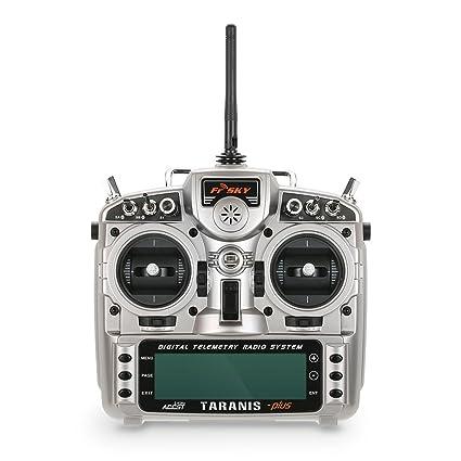 Amazon com: Goolsky FrSky Taranis X9D Plus 2 4G ACCST 16CH