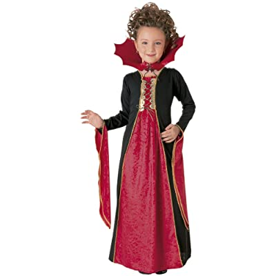 Gothic Vampiress Costume, Small: Toys & Games