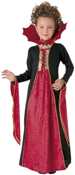 Rubies - Vestido de vampiresa gótica (terciopelo, talla S)