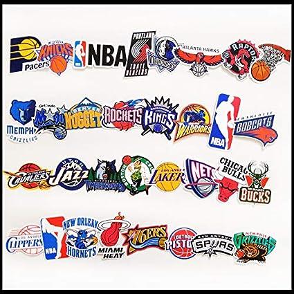 ZHANG 32 Pegatinas del Equipo De Baloncesto De La NBA Guitarra ...
