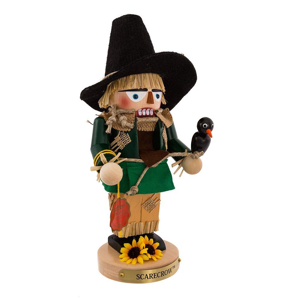 Kurt Adler Steinbach Chubby Wizard of Oz Scarecrow Nutcracker, 12-Inch