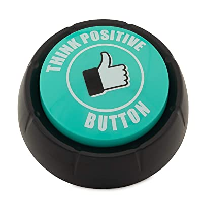 Motion Design Think Positive Button Motivational Sounds Funny Inspirational Teachers Kids Sports Home Office Inspiration: Office Products