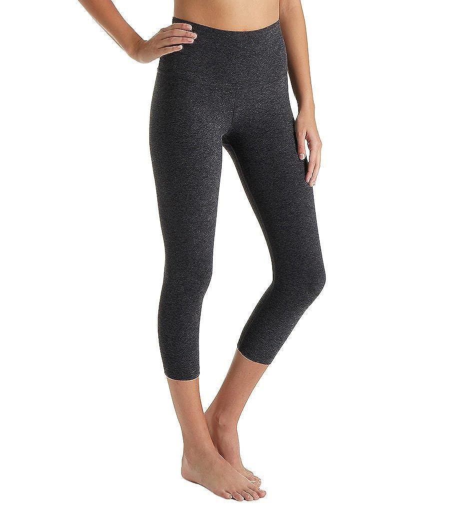 946ad94146cb8 Amazon.com: Beyond Yoga Women's Spacedye High Waist Capri Leggings: Clothing