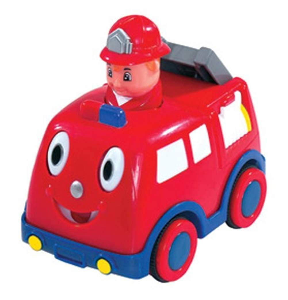 Simba F - Press and Go Car Feuerwehr, Feuerwehrauto