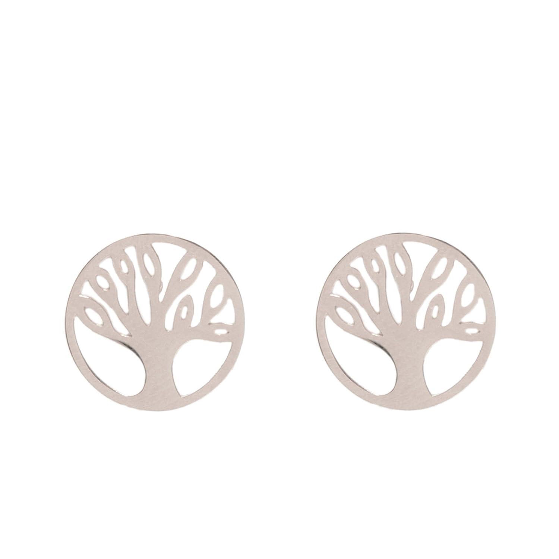 1111b19b0462 Parfois - Pendientes Cortos Stainless Steel - Mujeres - Tallas Única -  Plateado  Amazon.es  Joyería