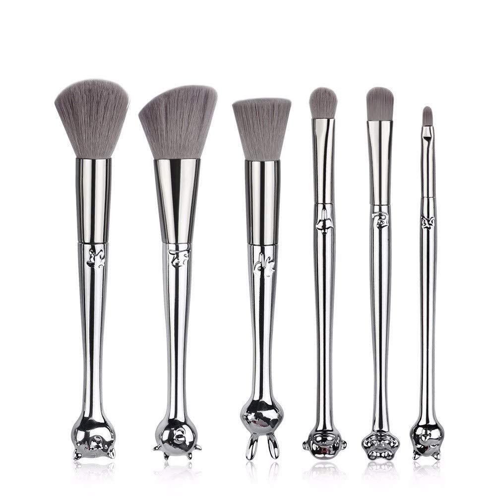 NDFSE-makeup brush Make-up Brush Set 12 Zodiac Makeup Brush Set Beginner