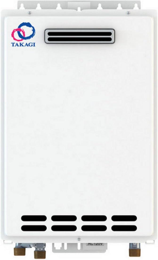 Takagi T-K4-OS-NG Tankless Water Heater, Natural Gas, Outdoor