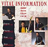 Easier Done Than Said by Vital Information (1992-10-20)