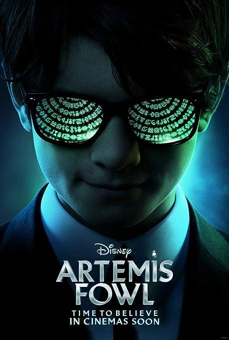 Amazon.com : ARTEMIS FOWL MOVIE POSTER 2 Sided ORIGINAL INTL ...