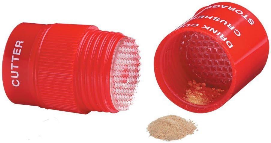 Cortador y triturador de pastillas ultrafino, 4en 1