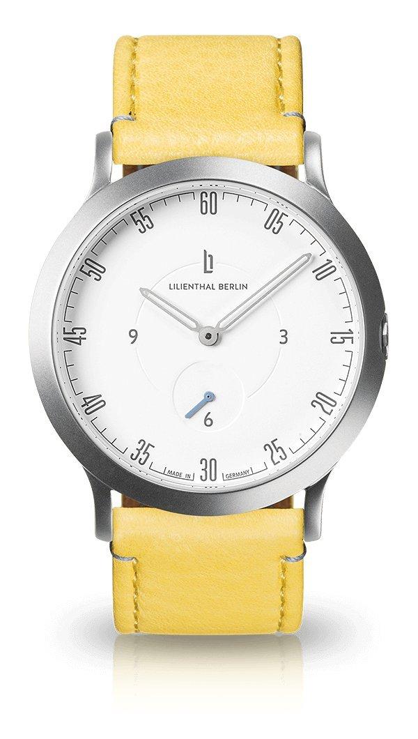 Lilienthal Berlin -Made white in Germany- ベルリンの新しい時計モデル L1 ステンレススチール primrose Case:/ ケース B077H2RGCT Size: 37.5 mm Case: silver/ Dial: white/ Strap: primrose Case: silver/ Dial: white/ Strap: primrose Size: 37.5 mm, ヒロチー商事 ハーレー:b056fc4a --- rakuten-apps.jp