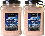 Pink Himalayan Salt - Gourmet Pure Crystal - Nutrient and Mineral Dense for Health - Kosher and Natural Certified - X-Fine, 5 Pound Tub (Pack of 2, Total of 10 Pounds)